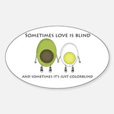 Colorblind Love Decal