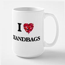 I love Handbags Mugs