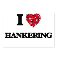 I love Hankering Postcards (Package of 8)