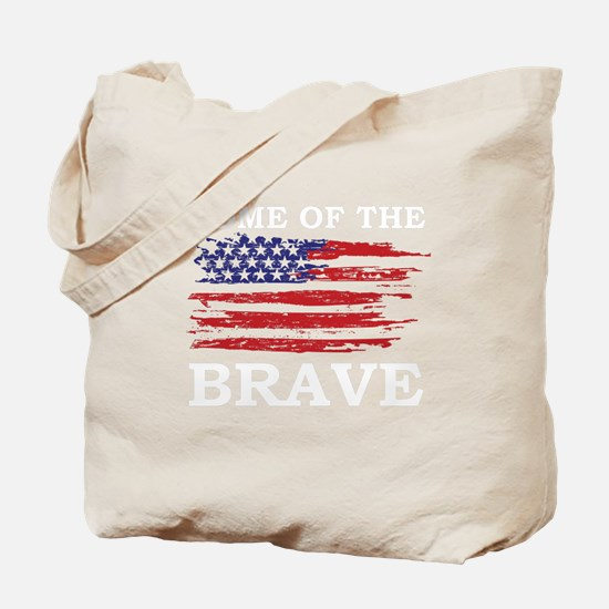 home of the brave Tote Bag