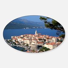 Croatia Harbor  Decal