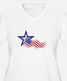 usa independence Plus Size T-Shirt