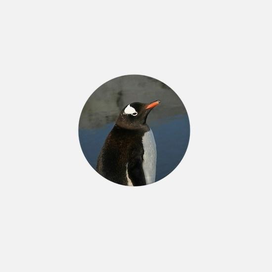 Gentoo Penguin Mini Button