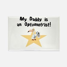 My Daddy is an Optometrist Rectangle Magnet