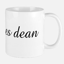 mrs. james dean Small Mugs