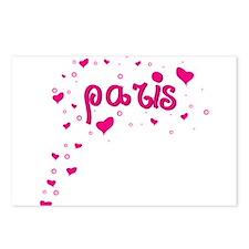 paris spread Postcards (Package of 8)