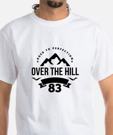 Over The Hill 83rd Birthday T-Shirt