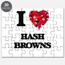 I love Hash Browns Puzzle