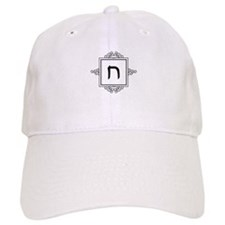 Chet Hebrew monogram Baseball Cap