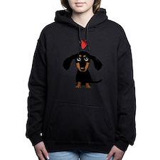 Unique Cute dog Women's Hooded Sweatshirt