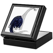 Diamond_Emerald_Dinosaur Keepsake Box