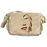 Butterfly beautiful art Messenger Bag