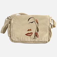 Face flower Messenger Bag