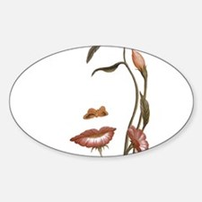 Face flower Decal