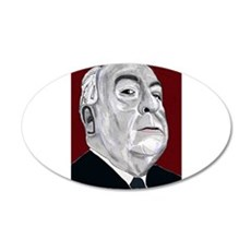Alfered Hitchcock Wall Decal