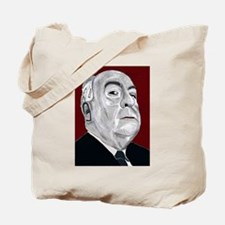 Alfered Hitchcock Tote Bag