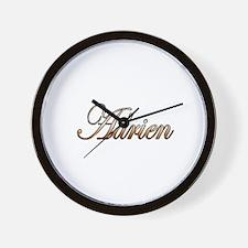 Gold Adrien Wall Clock