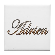 Gold Adrien Tile Coaster