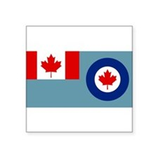 "Cute Canadian forces Square Sticker 3"" x 3"""