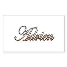 Gold Adrien Decal
