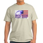 United States Coast Guard Ash Grey T-Shirt
