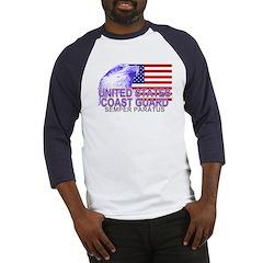 United States Coast Guard Baseball Jersey