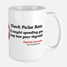 Thyroid HUG - Stop! Check Pulse Rate Mugs