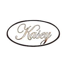 Gold Kasey Patch