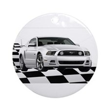 14WHMustangGTCB Ornament (Round)