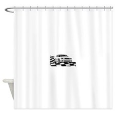14WHMustangGTCB Shower Curtain
