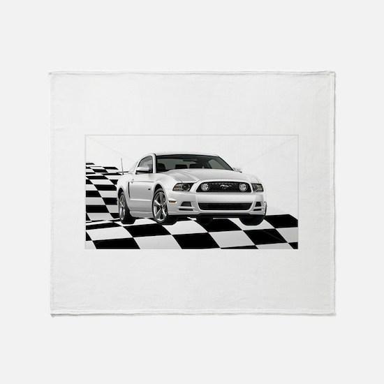 14WHMustangGTCB Throw Blanket
