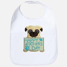 Father's Day Pug Bib