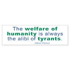 Albert Camus Bumper Bumper Sticker