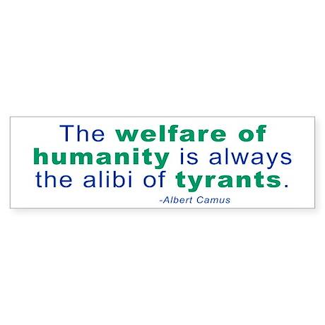 Albert Camus Bumper Sticker