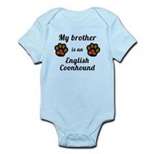 My Brother Is An English Coonhound Body Suit