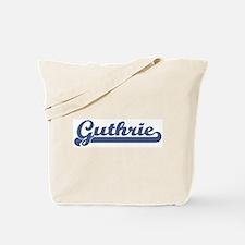 Guthrie (sport-blue) Tote Bag