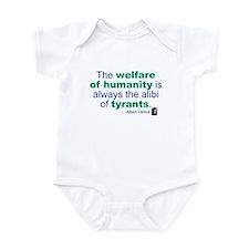 Albert Camus Infant Bodysuit