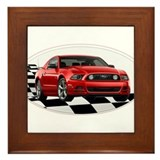 Ford mustang Framed Tiles