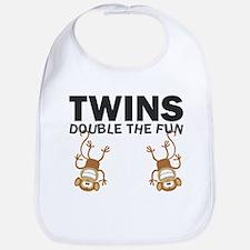 Cute Twins Bib