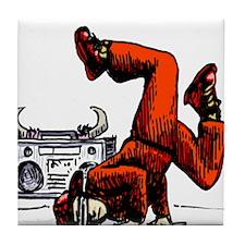 Breakdance_oldschool Tile Coaster