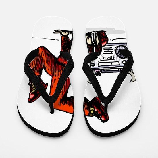 Breakdance_oldschool Flip Flops