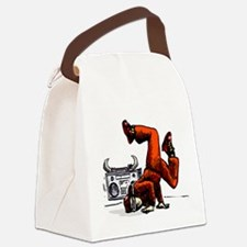 Breakdance_oldschool Canvas Lunch Bag