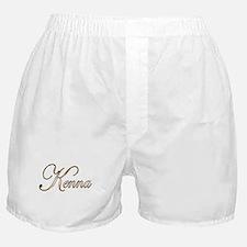 Gold Kenna Boxer Shorts