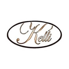 Gold Kelli Patch