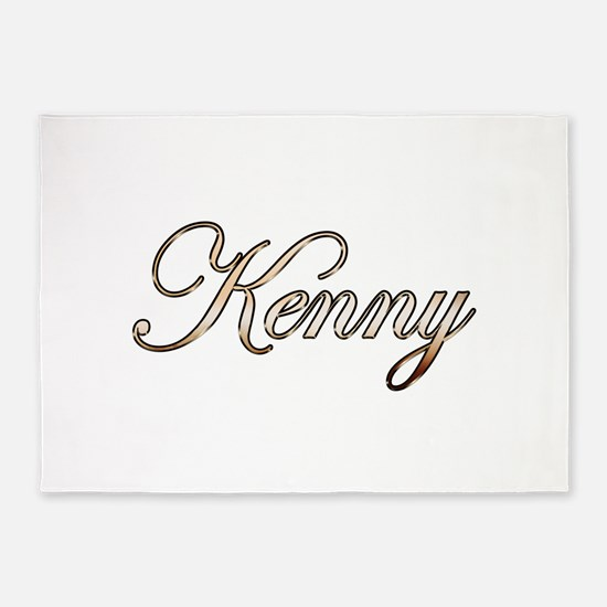 Gold Kenny 5'x7'Area Rug