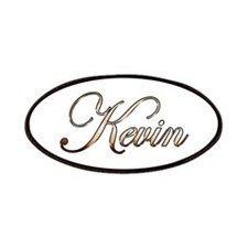 Gold Kevin Patch