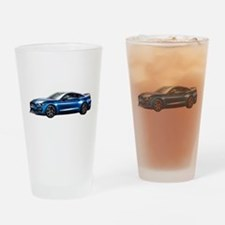 Unique Ford mustang Drinking Glass