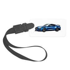Cute Mustang gt Luggage Tag