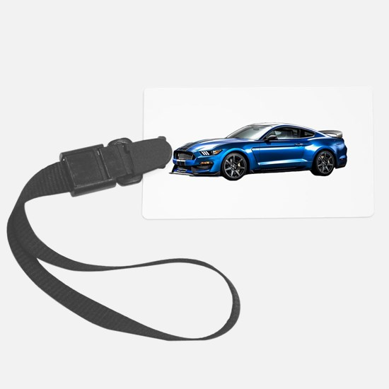 Cute Ford mustang Large Luggage Tag