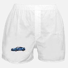 Cute Mustang Boxer Shorts